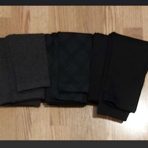 3 pairs of leggings from Suzy Shier